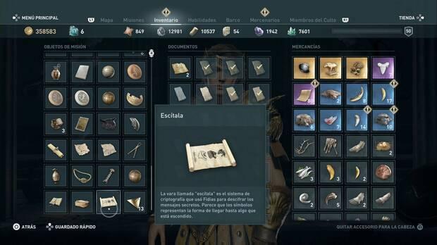Assassin's Creed Odyssey - El final del viaje: símbolos para abrir la puerta