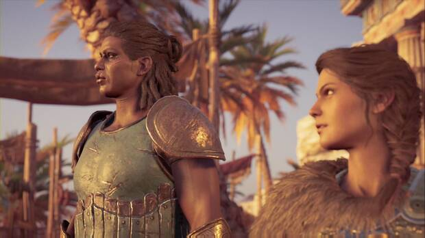 Assassin's Creed Odyssey - La isla del infortunio: Xenia y Kassandra