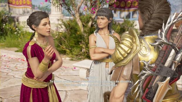 Assassin's Creed Odyssey - En busca de una chica: Kassandra y Antusa