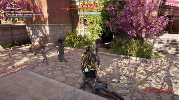 Assassin's Creed Odyssey - Ayudar a una chica: el camino oculto en la casa