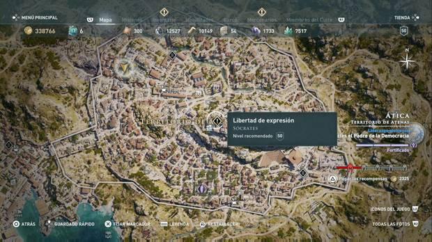 Assassin's Creed Odyssey - Libertad de expresión: localización