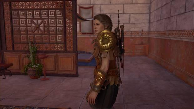 Assassin's Creed Odyssey - Ni una palabra: Kassandra observa a Midón