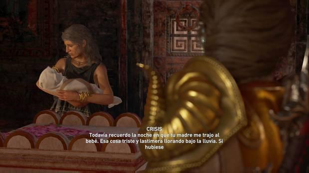Assassin's Creed Odyssey - Cenizas a las cenizas: Crisis cuenta la historia de Deimos