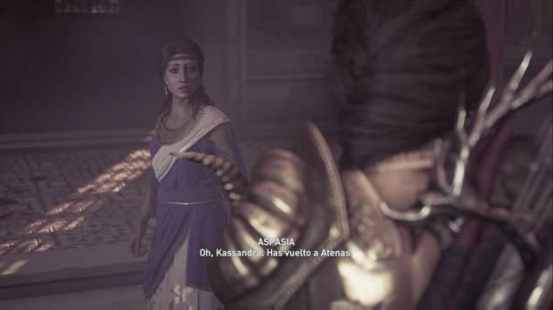 Assassin's Creed Odyssey - Abandonados por los dioses: Aspasia nos recibe a la vuelta a Atenas