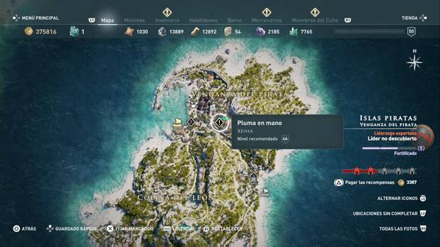 Assassin's Creed Odyssey - Pluma en mano: misión secundaria