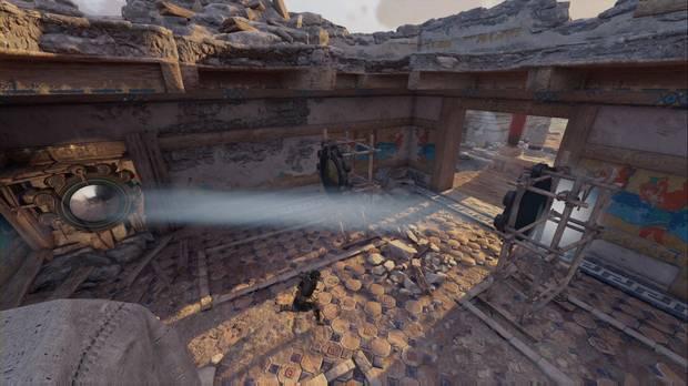 Assassin's Creed Odyssey - Un legado familiar: posición de los espejos