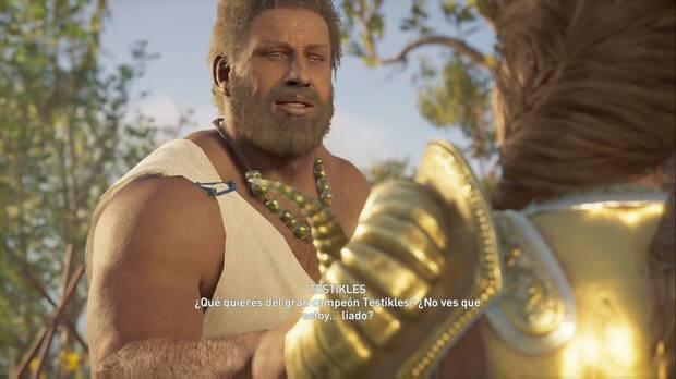 Assassin's Creed Odyssey - Acompaña al campeón: Testikles, campeón de Pancracio