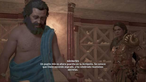 Assassin's Creed odyssey - La verdad: Sócrates cuenta su plan