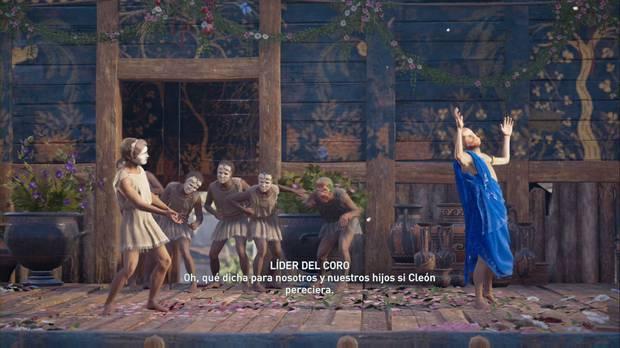 Assassin's Creed Odyssey - La Resistencia: la obra para ofender a Cleón