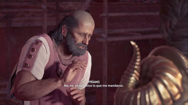 Assassin's Creed Odyssey - Juegos envenenados: Príamo fue sobornado