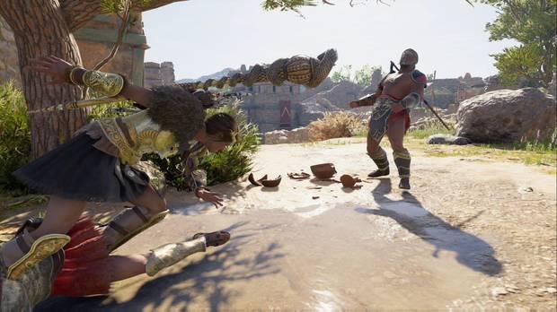 Assassin's Creed Odyssey - Juez, jurado y verdugo: Kassandra usa Racha asesina