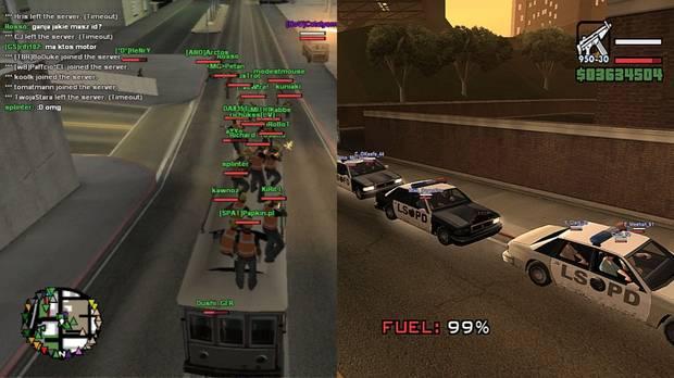 GTA San Andreas Multiplayer, el mod que anticip