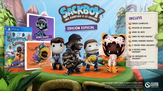 Sackboy: Una aventura a lo grande un plataformas 3D con muchas sorpresas por descubrir Imagen 3