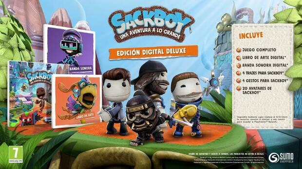 Sackboy Una aventura a lo grande: Un plataformas 3D innovador gracias a PS5 Imagen 4