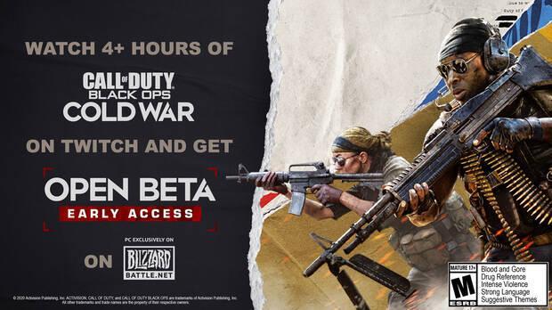 La beta de Call of Duty: Black Ops Cold War ya est