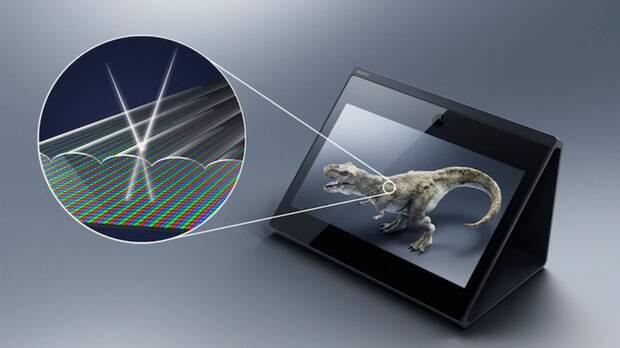 Sony presenta Spatial Reality Display, una pantalla 4K con efecto 3D sin gafas Imagen 2