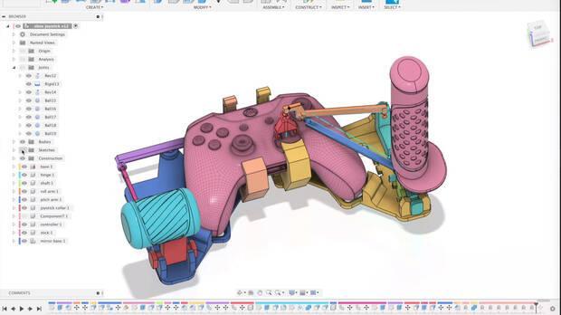 Si no tienes stick para Microsoft Flight Simulator, hazte uno con una impresora 3D Imagen 3