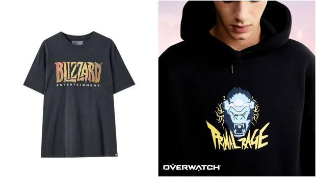 Blizzard y Pull&Bear lanzan una colecci