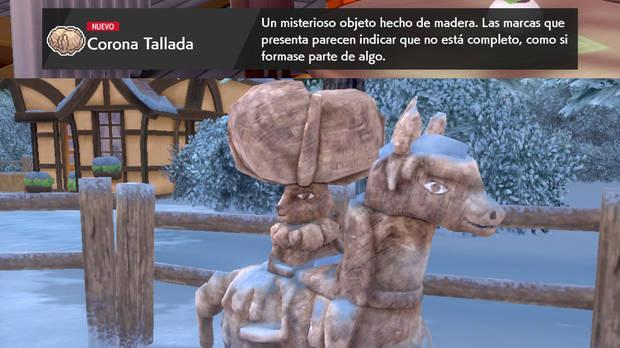 Las Nieves de la Corona - Steps to follow to get Calyrex and Glastrier or Spectrier 02