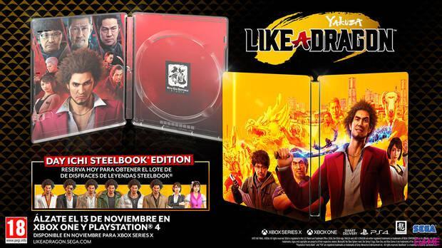 Las reservas de Yakuza: Like a Dragon en GAME recibir