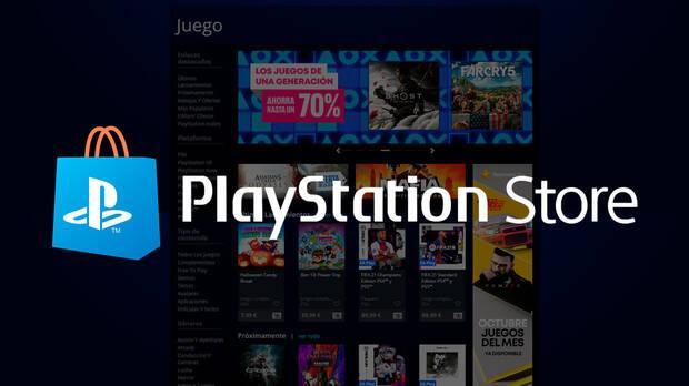 PlayStation Store en navegador.