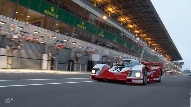 Captura de Gran Turismo Sport.