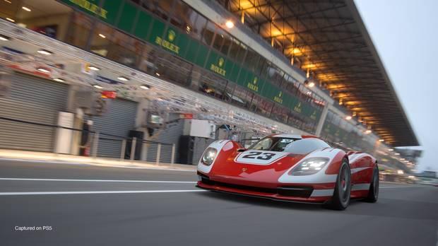 Captura de Gran Turismo 7.