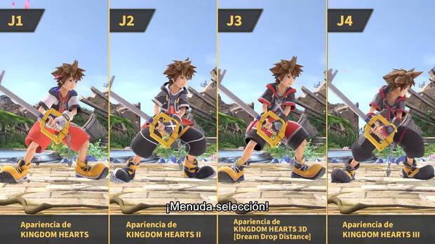 Apariencias Sora Super Smash Bros. Ultimate