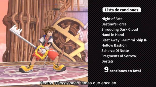 Sora Super Smash Bros. Canciones Kingdom Hearts