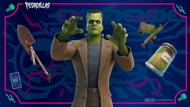 Skin del Monstruo de Frankenstein: todos los contenidos