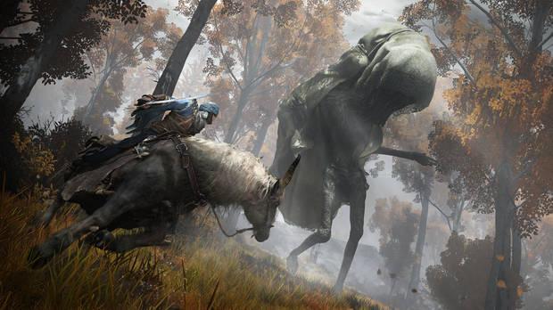 Elden Ring fights on horseback