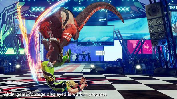 King of Dinosaurs confirmado en King of Fighters 15