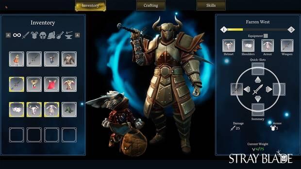 Stray Blade RPG anunciado nueva generaci