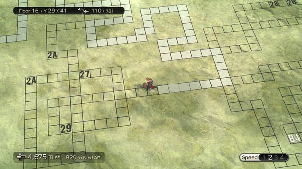 Captura de Dungeon Encounters.