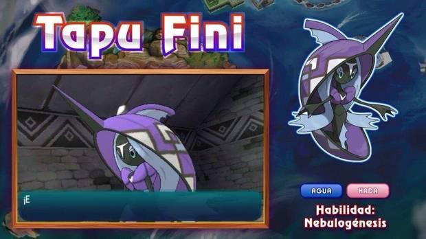 Tapu Fini en Pokémon Sol y Luna