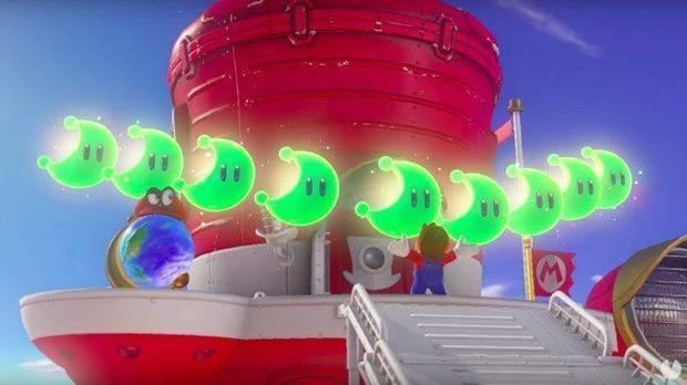 Localización de todas las energilunas en Super Mario Odyssey
