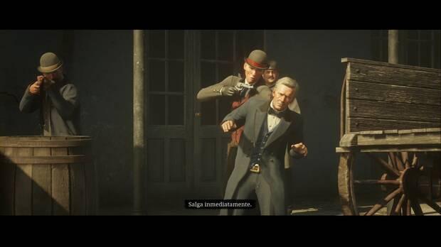 Red Dead Redemption 2 - Los bancos: el viejo arte americano: los Pinkerton han capturado a Hosea
