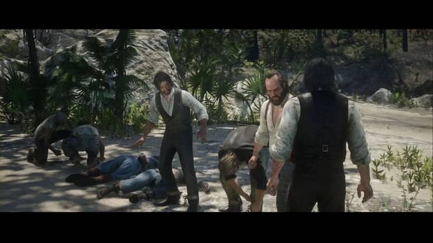 Red Dead Redemption 2 - Bienvenidos al nuevo mundo: el grupo se libera