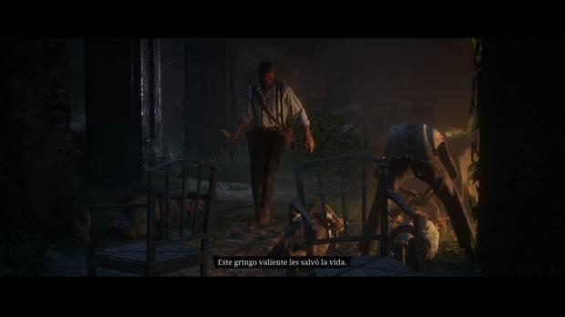 Red Dead Redemption 2 - Se desata la barbarie: Arthur salva a los prisioneros