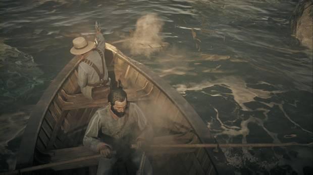 Red Dead Redemption 2 - No hay furia comparable: acaba con los remeros