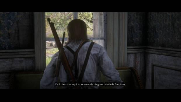 Red Dead Redemption 2 - Querido tío Tacitus: los Pinkerton llegan a Shady Belle