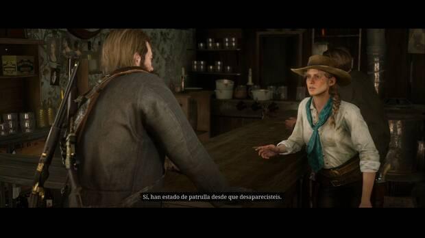 Red Dead Redemption 2 - Ícaro y sus amigos: Sadie comenta la situación en Saint Denis