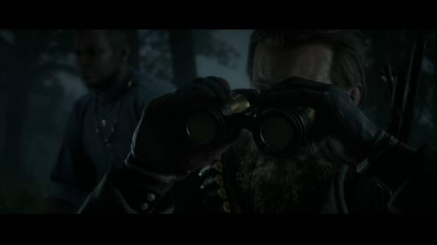 Red Dead Redemption 2 - Territorio Murfree: Arthur y Charles exploran el campamento