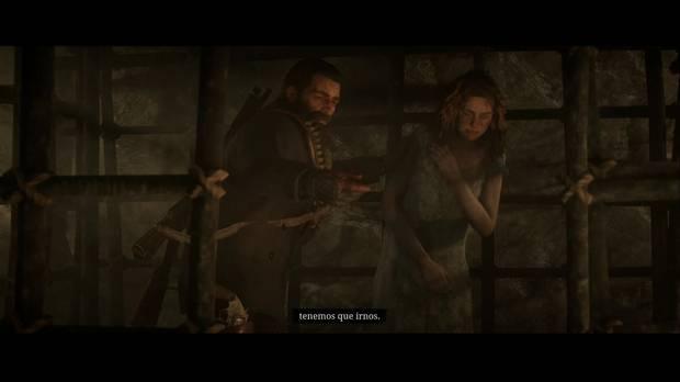 Red Dead Redemption 2 - Territorio Murfree: Arthur libera a la prisionera