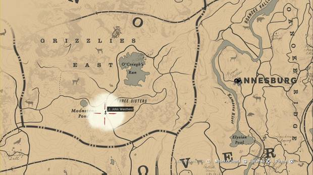Red Dead Redemption 2 - Préstamos de usura: J. John Weathers