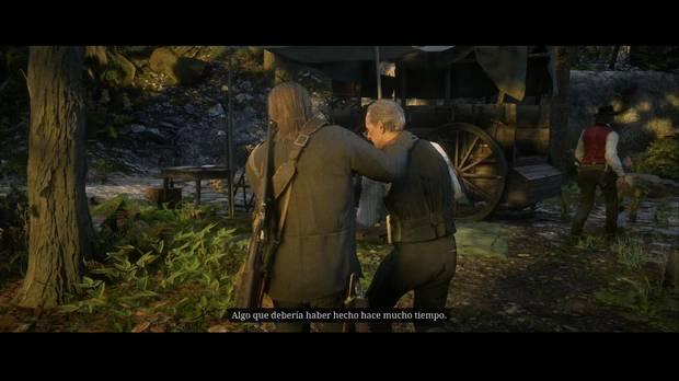 Red Dead Redemption 2 - Préstamos de usura: Arthur expulsa a Strauss del campamento