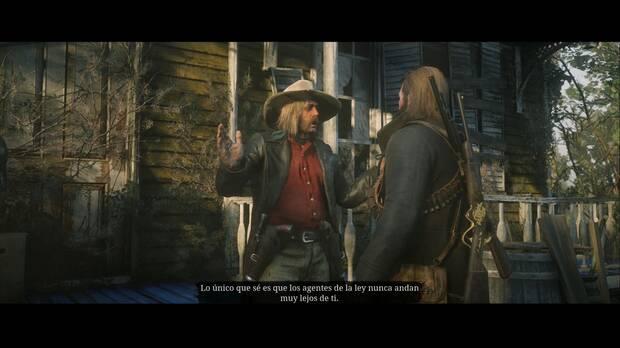 Red Dead Redemption 2 - Las delicias de Van Horn: Micah y Arthur discuten