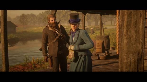 Red Dead Redemption 2 - El camino del amor verdadero: Penélope está asustada