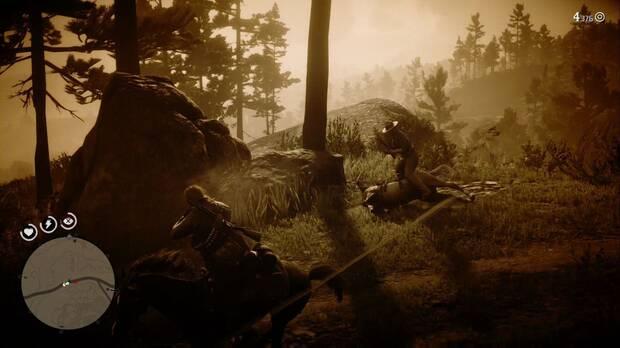 Red Dead Redemption 2 - El bello arte de la conversación: abate a un caballo