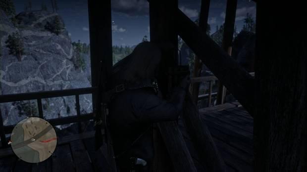 Red Dead Redemption 2 - El puente hacia ninguna parte: Arthur coloca las cargas
